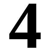 Il numero quattro