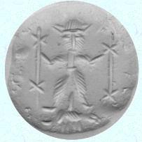 Immagine di Gayomart nella mitologia persiana