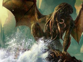 Cthulhu, uno dei Grandi Antichi immaginati da Howard Philips Lovecraft