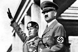 Hitler e Mussolini, individui che hanno creato una dittatura