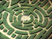 Esempio di Labirinto di Barvaux Durbuy in Belgio