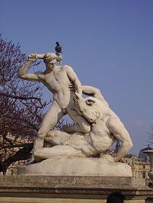 Thésée et le Minotaure, Étienne-Jules Ramey, 1826. Giardino delle Tuileries (Parigi)