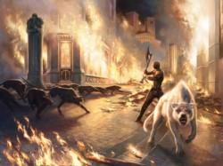 La copertina di Toll the Hounds di Steven Erikson ben rappresenta il mercato bruciato del fantasy in Italia