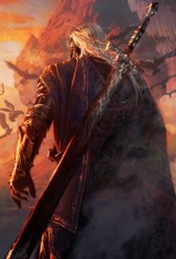 Anomander Rake, uno dei protagonisti della saga Malazan di Steven Erikson