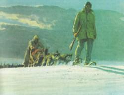 Un'immagine tratta da Il silenzio del nord