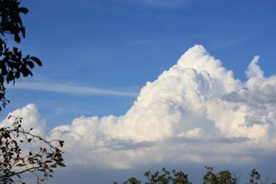 Nuvole di un pomeriggio d'estate