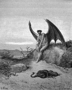 Lucifero, famosa figura della mitologia ebraica