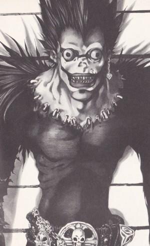 Ryuk, Dio della Morte nel manga Deat Note