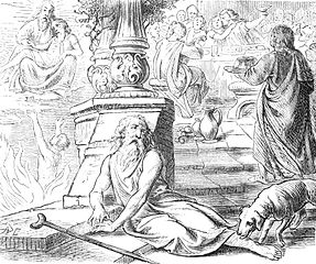Il povero Lazzaro e il ricco Epulone, rappresentazione di disuguaglianza sociale
