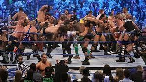 battle royal, un incontro di wrestling: ottimo esempio di tutti contro tutti