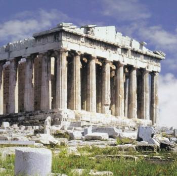 Il Partenone di Atene, magnifico esempio dell'antica cultura greca