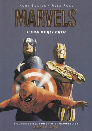 Marvels – L'Era degli Eroi, l'opera fumettistisca scritta da Kurt Busiek e disegnata da Alex Ross