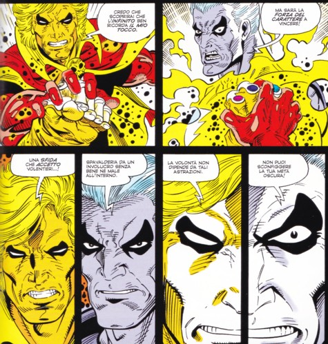 The Infinity War - Confronto Magus-Adam Warlock-1