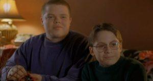 Kevin e Max, protagonisti di Basta guardare il cielo