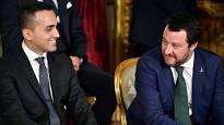 Salvini e Di Maio, due esponeti dell'attuale classe politica italiana