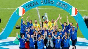 L'Italia vincitrice di Euro 2020