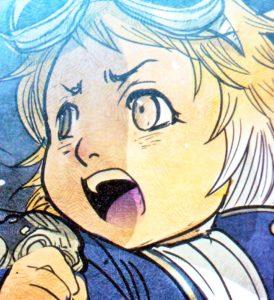 La piccola volpe disegnata nel Volume 5